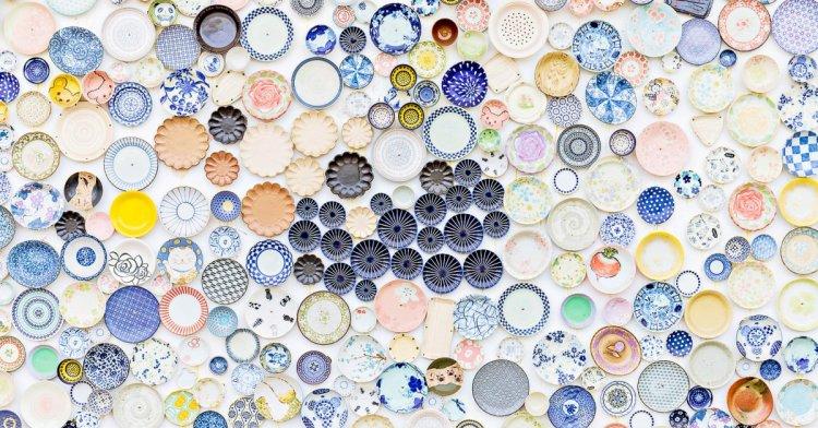 僑俐瓷器專賣店,日本進口瓷器批發彰化台中都能買得到!還有超美繽紛圓盤網美牆好吸睛!