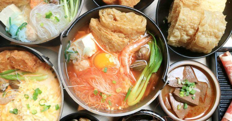 私鍋藝│台中人氣火鍋新品牌,超大份量個人鍋差點吃不完,肉量還能加量不加價!