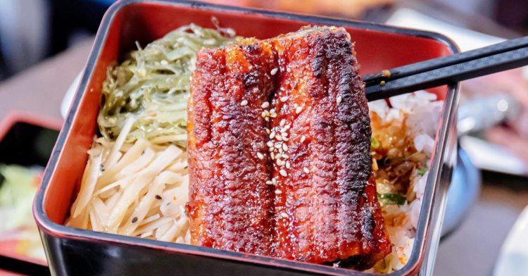 隱藏在住宅區內的平價高質感日式料理,鰻魚飯CP值超高,佔滿半個飯盒實在霸氣!