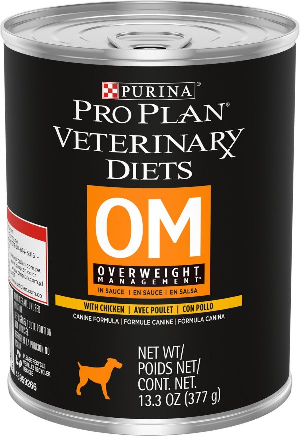 Purina Pro Plan Veterinary Diets Om Overweight Management