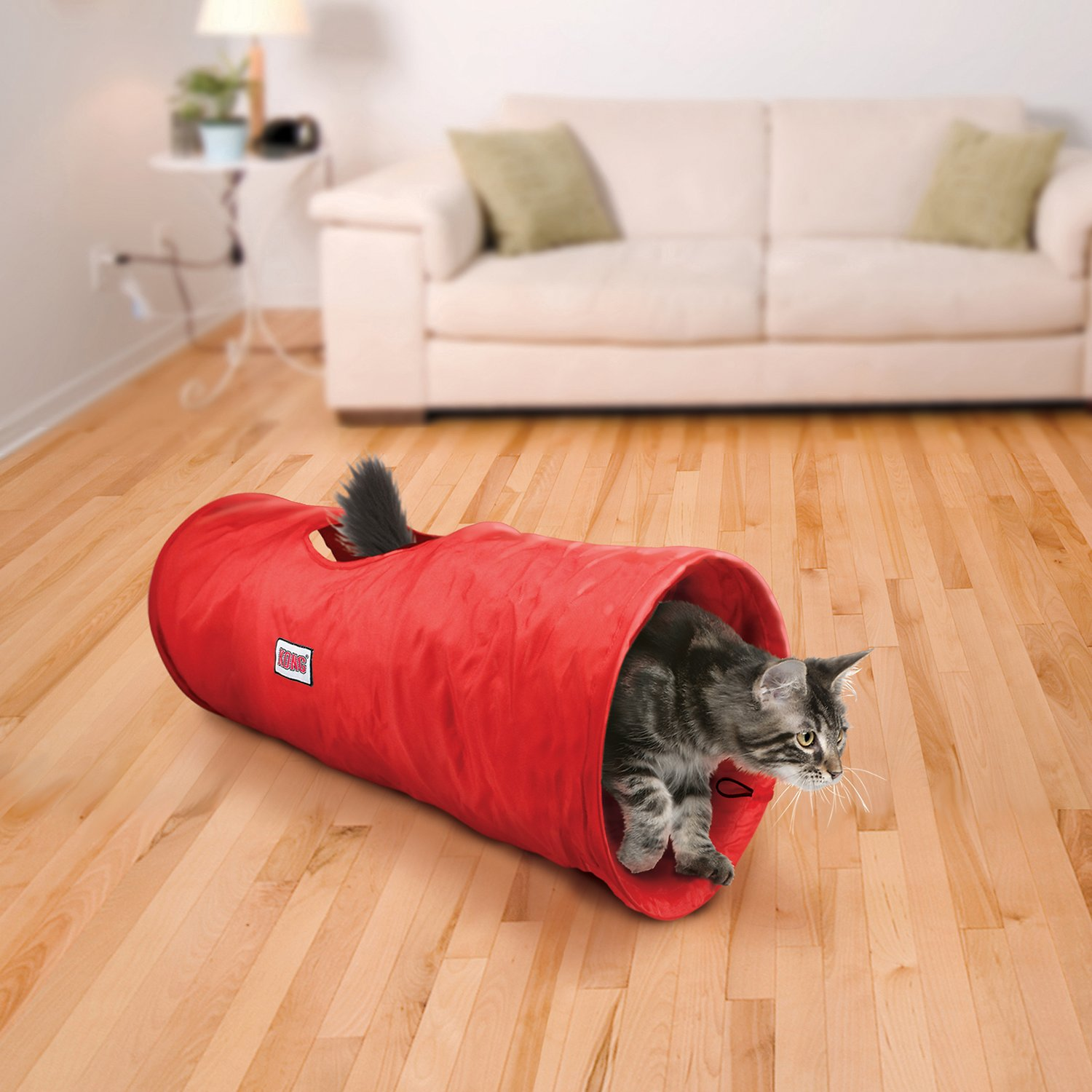 cat tunnel sofa price repair sagging cushions kong active nylon toy red chewy