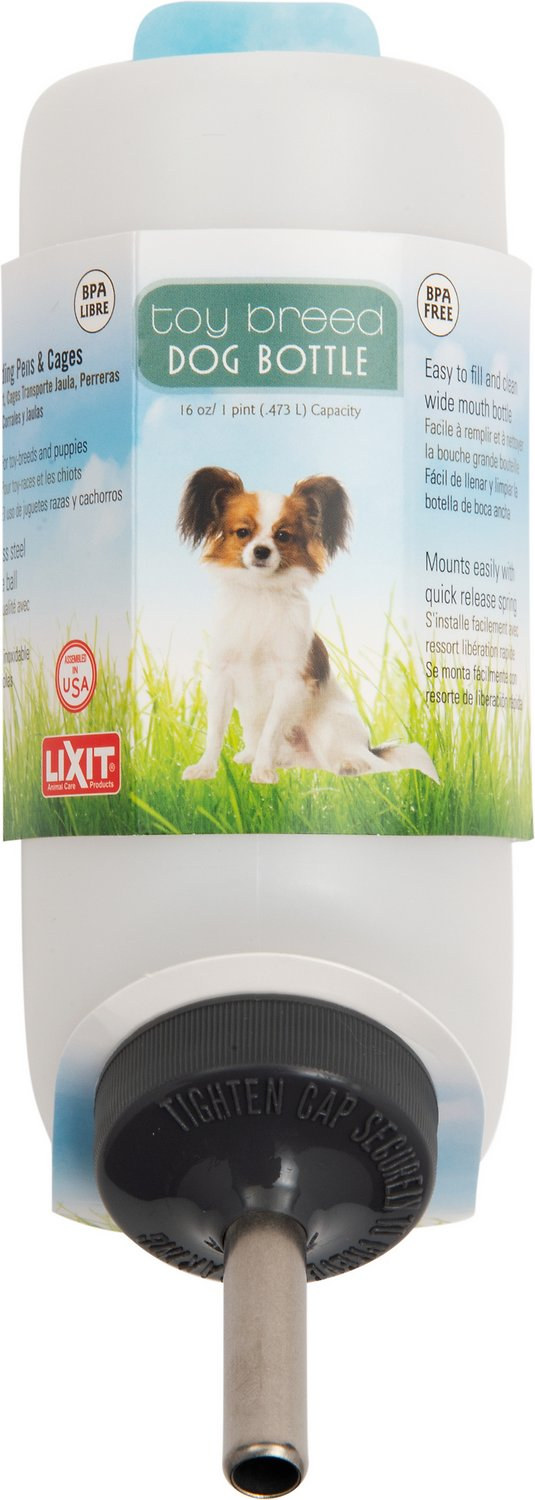 lixit small dog water bottle 16 oz