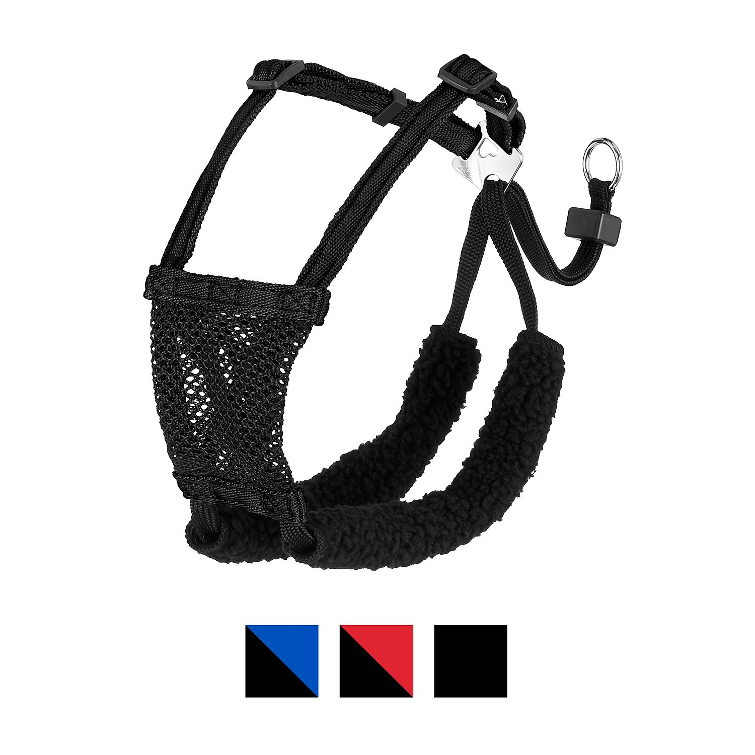 hight resolution of sporn non pull mesh dog harness