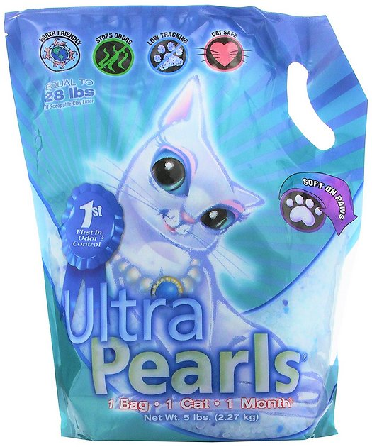 ultra pearls crystal cat