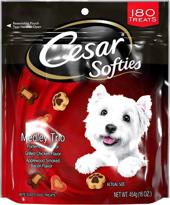 Little Caesars Puppy Food : little, caesars, puppy, CESAR, Softies, Medley, Treats, Chewy, (Free, Shipping)