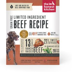 Honest Kitchen Dog Food Reviews Dcs The Limited Ingredient Diet Beef Recipe