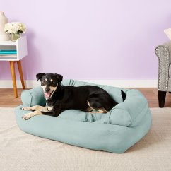Large Overstuffed Sofas Sofa Legs San Go Snoozer Pet Products Luxury Dog And Cat