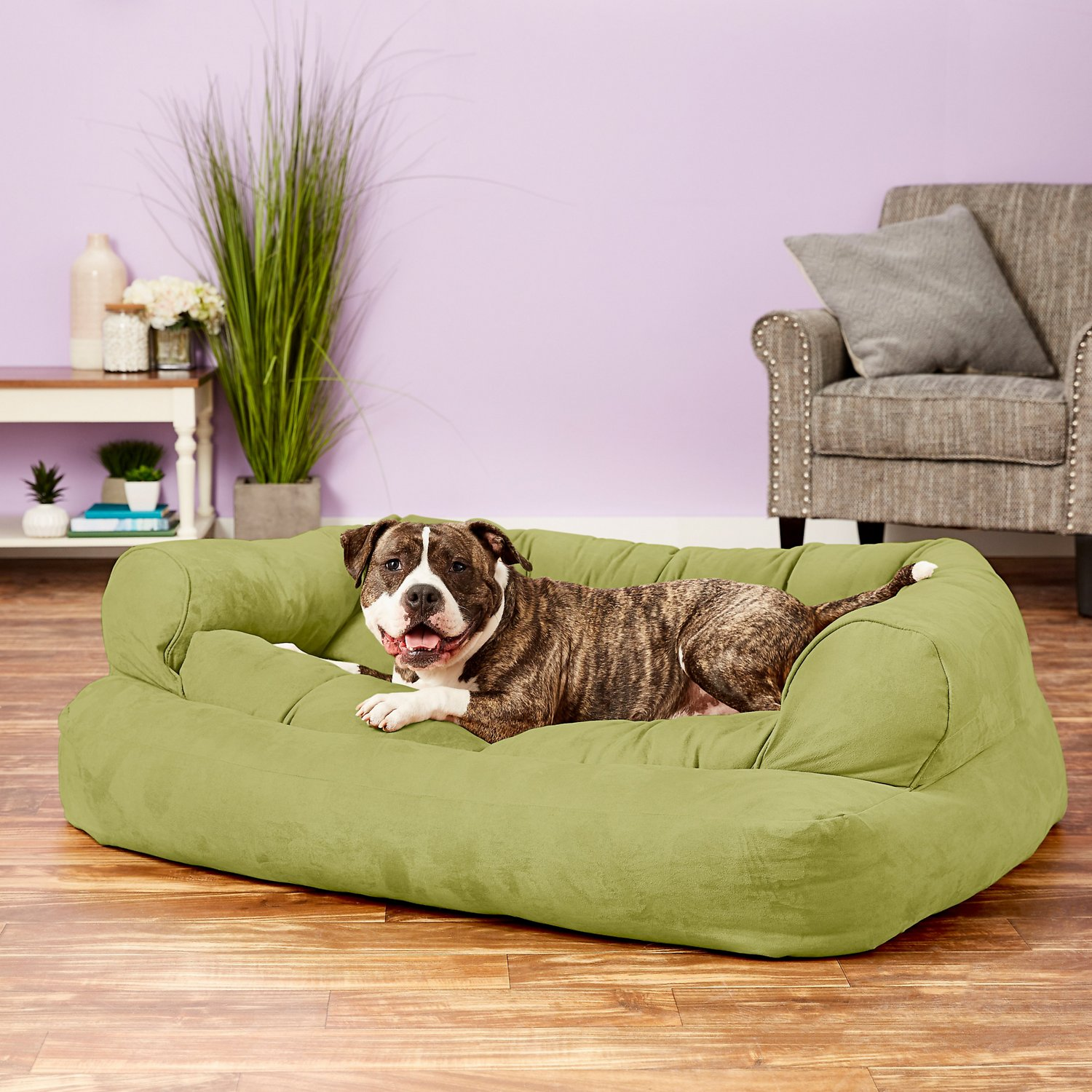 large overstuffed sofas genuine leather sofa snoozer pet products luxury dog and cat