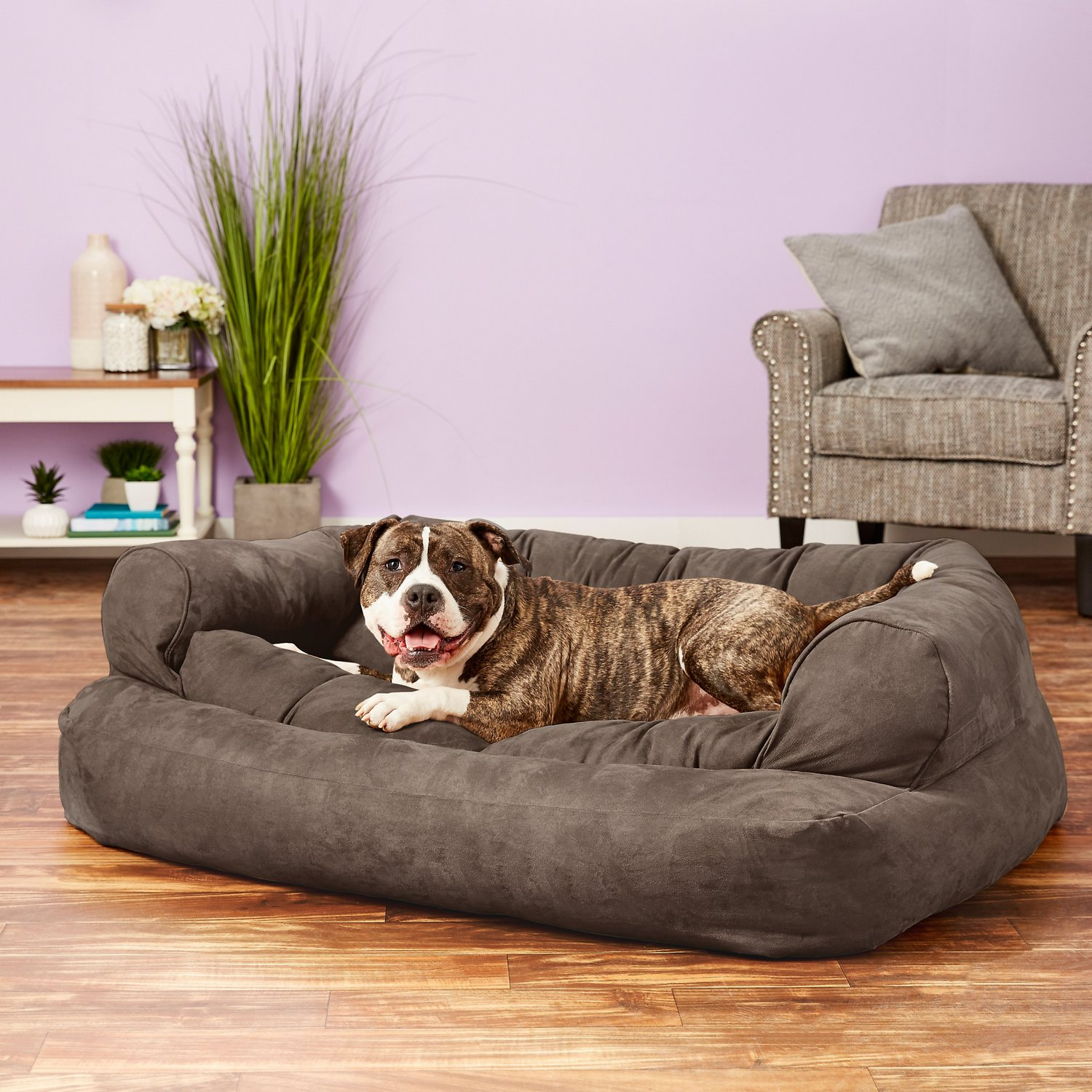 sofa covers petsmart old wooden set in chennai snoozer overstuffed pet bed replacement cover
