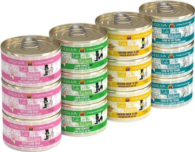 cats in the kitchen frigidaire gallery package weruva cuties variety pack grain free canned cat food