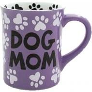 "Our Name is Mud ""Dog Mom"" Coffee Mug, 16-oz"
