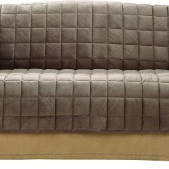Horse Sofa Slipcovers Costco Sectional Canada Sure Fit Deluxe Loveseat Cover Sable Chewy