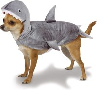 Casual Canine Shark Dog Costume, X
