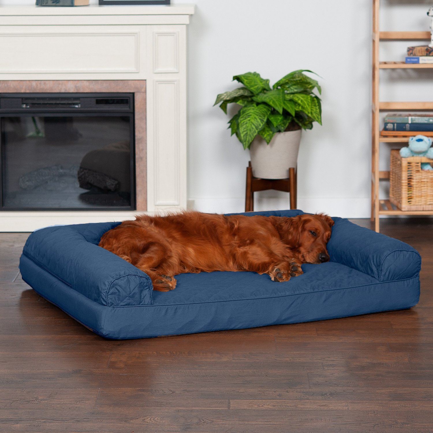 orthopedic sofa make a loose cover furhaven quilted dog and cat bed jumbo