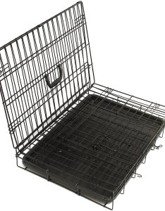 Video also paws  pals double door folding wire dog crate in chewy rh