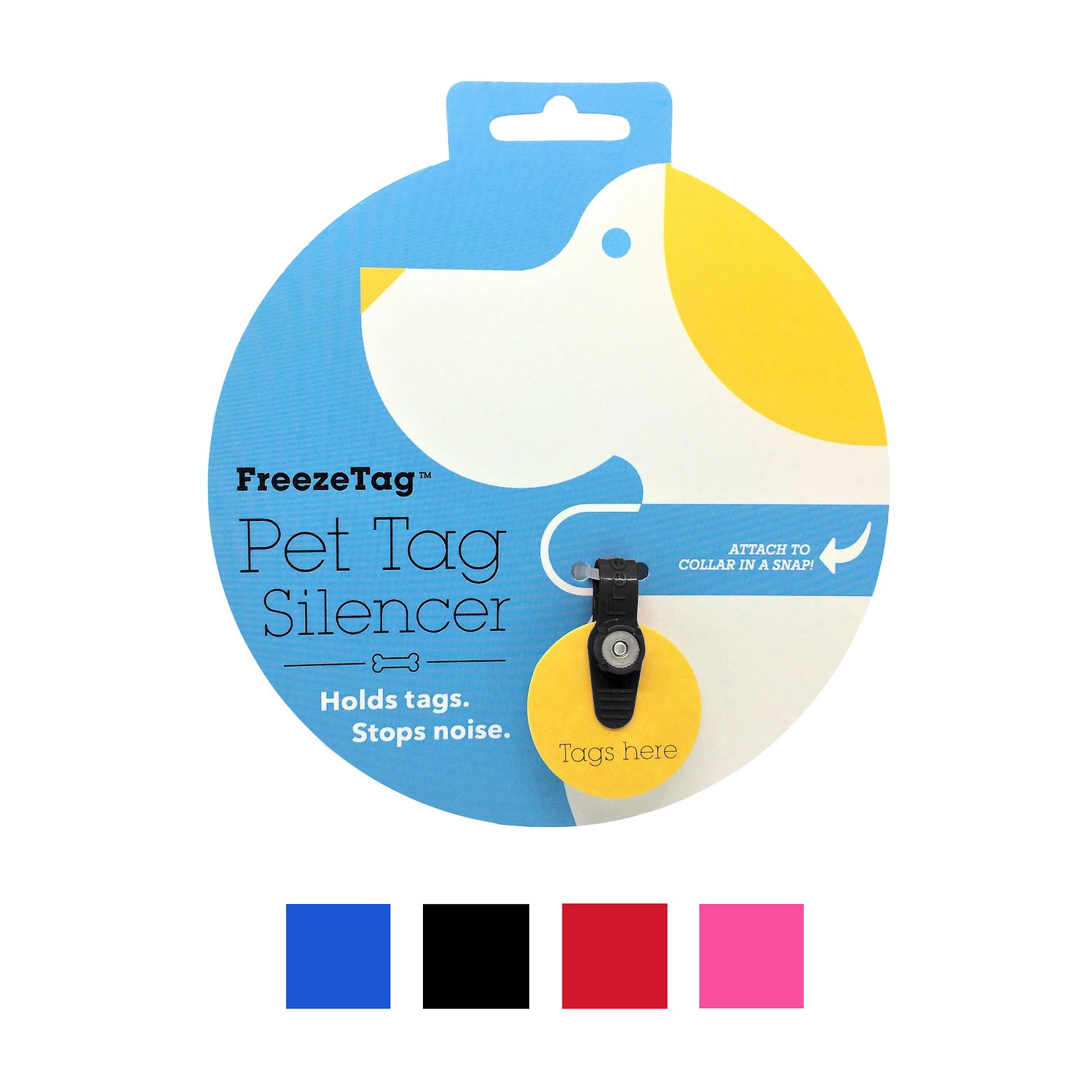 freezetag pet tag holder