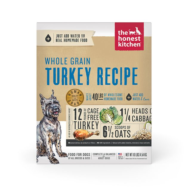 honest kitchen keen americast sink the whole grain turkey recipe dehydrated ...