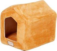 Armarkat Pet Bed Cave Shape, Brown/Beige - Chewy.com