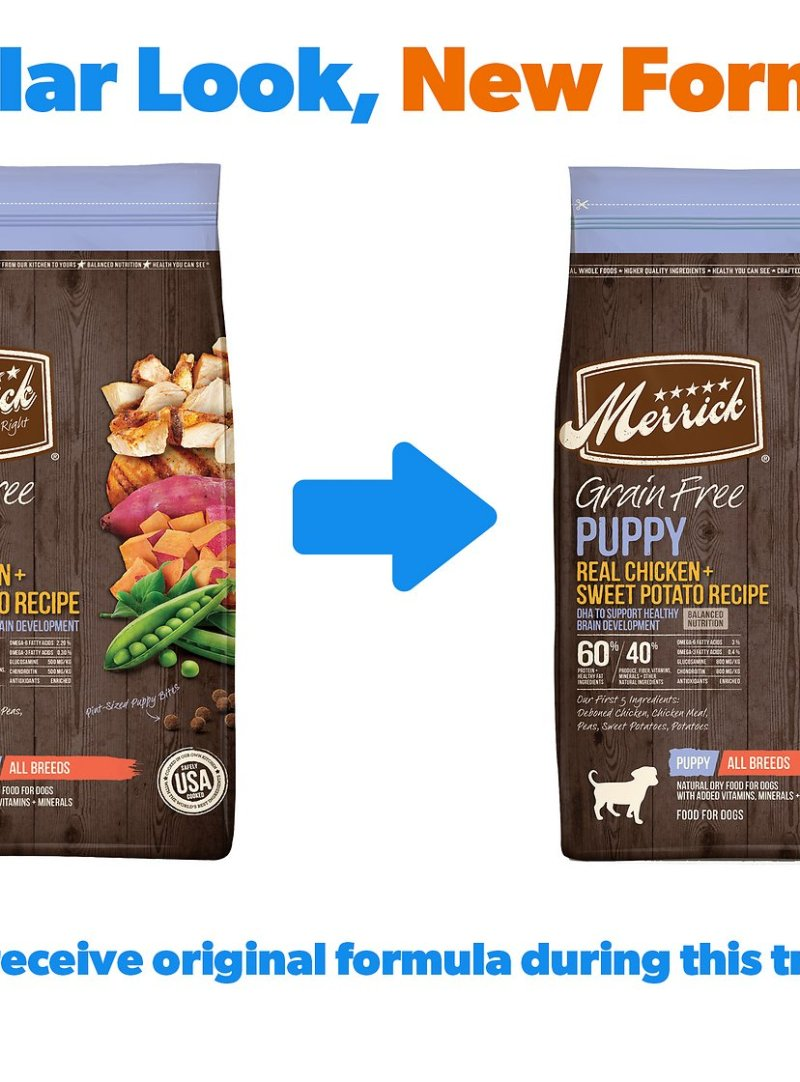 Merrick Dog Food Puppy Feeding Chart Foodfash Co