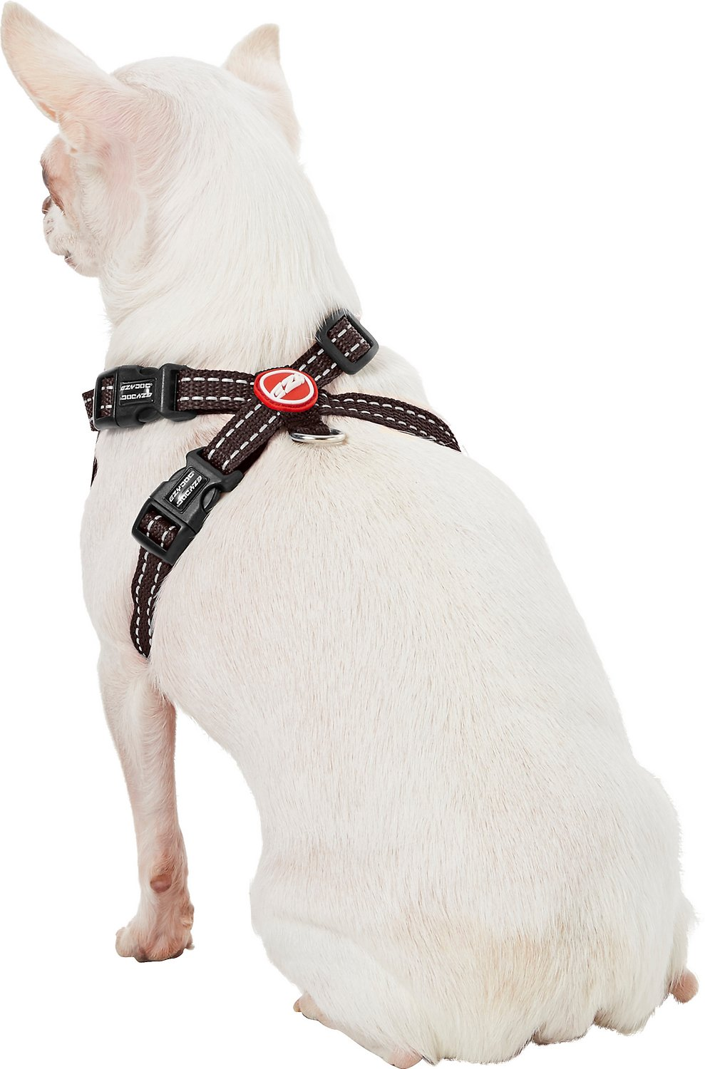 Ezydog Chest Plate Dog Harness Chocolate X Small