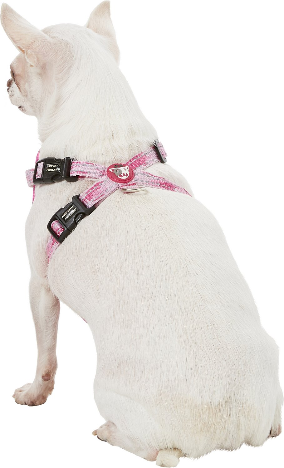 Ezydog Chest Plate Dog Harness Pink Camo X Small