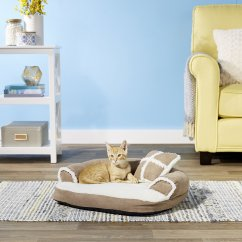 Aspen Pet Sofa Bed For Dogs Cats Assorted Colors Blue Sleeper With Chaise Small And Color Varies