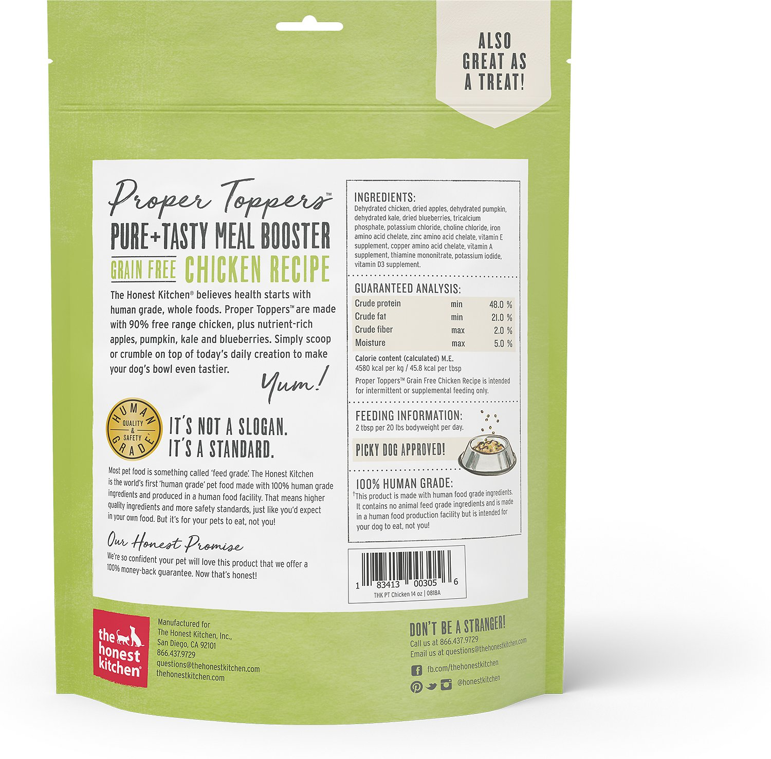 honest kitchen dog food reviews the outdoor store tampa proper toppers grain free chicken