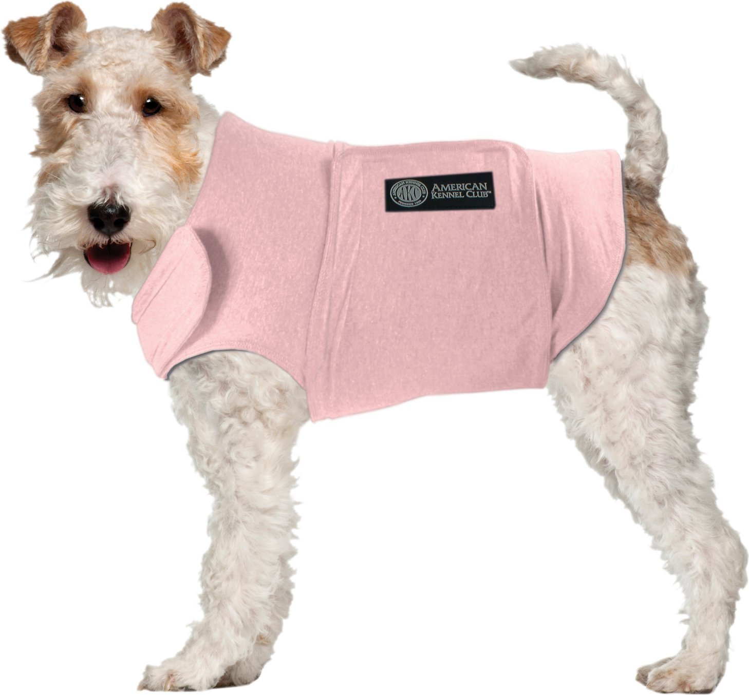 Calming Coat for Dogs, Pink, X