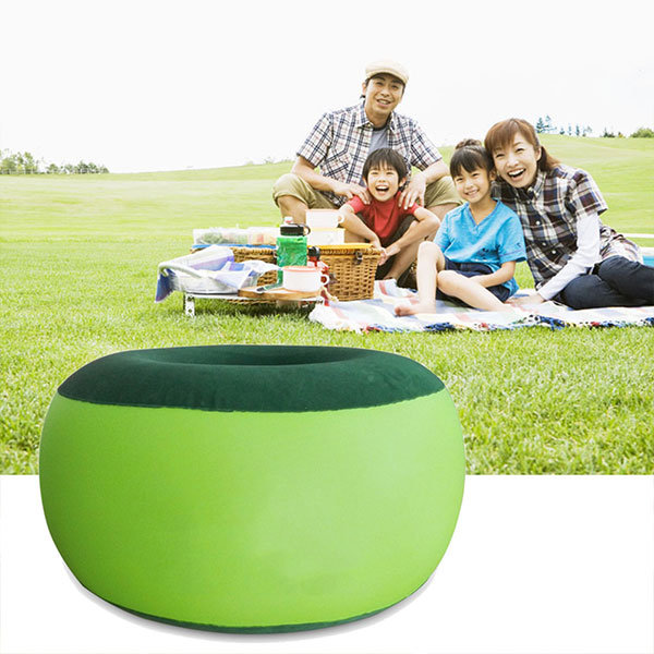 inflatable chair stool artist chairs studio portable outdoor plush pneumatic bean bag round shape home furniture is worth buying newchic