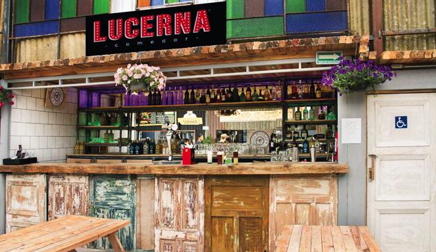 Comedor Lucerna un picnic bajo techo  Chilango