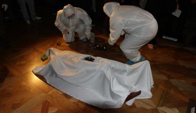 La escena del crimen la obra interactiva del Museo de
