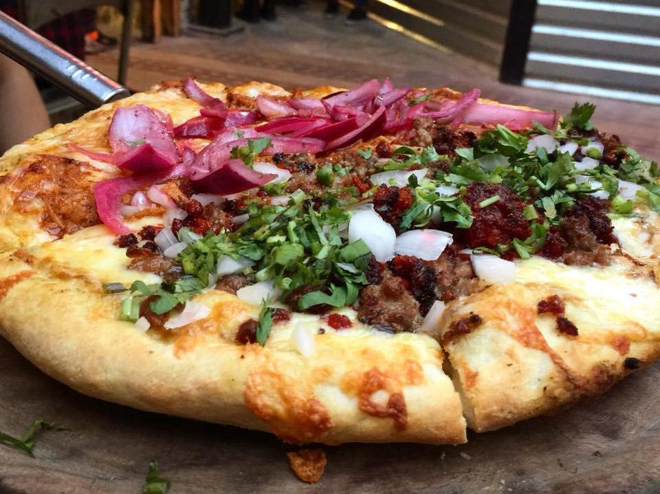 Pizza del Perro Negro Roma