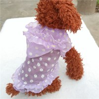 Summer New Protective Sun Hoodie Pet Clothes Cute Female ...