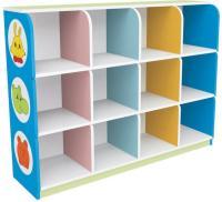 fireproof board cabinet colorful kids bag cabinet daycare ...