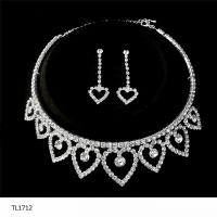 Heart Shaped Bridal Wedding&Party Jewelry Sets crystal ...