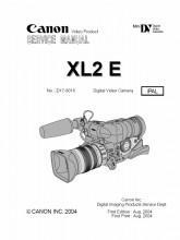 Canon XL2 Mini DV Digital Video Camera Service Manual PDF