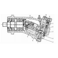 Axial Piston Rexroth Hydraulic Motor Parts For Caterpillar