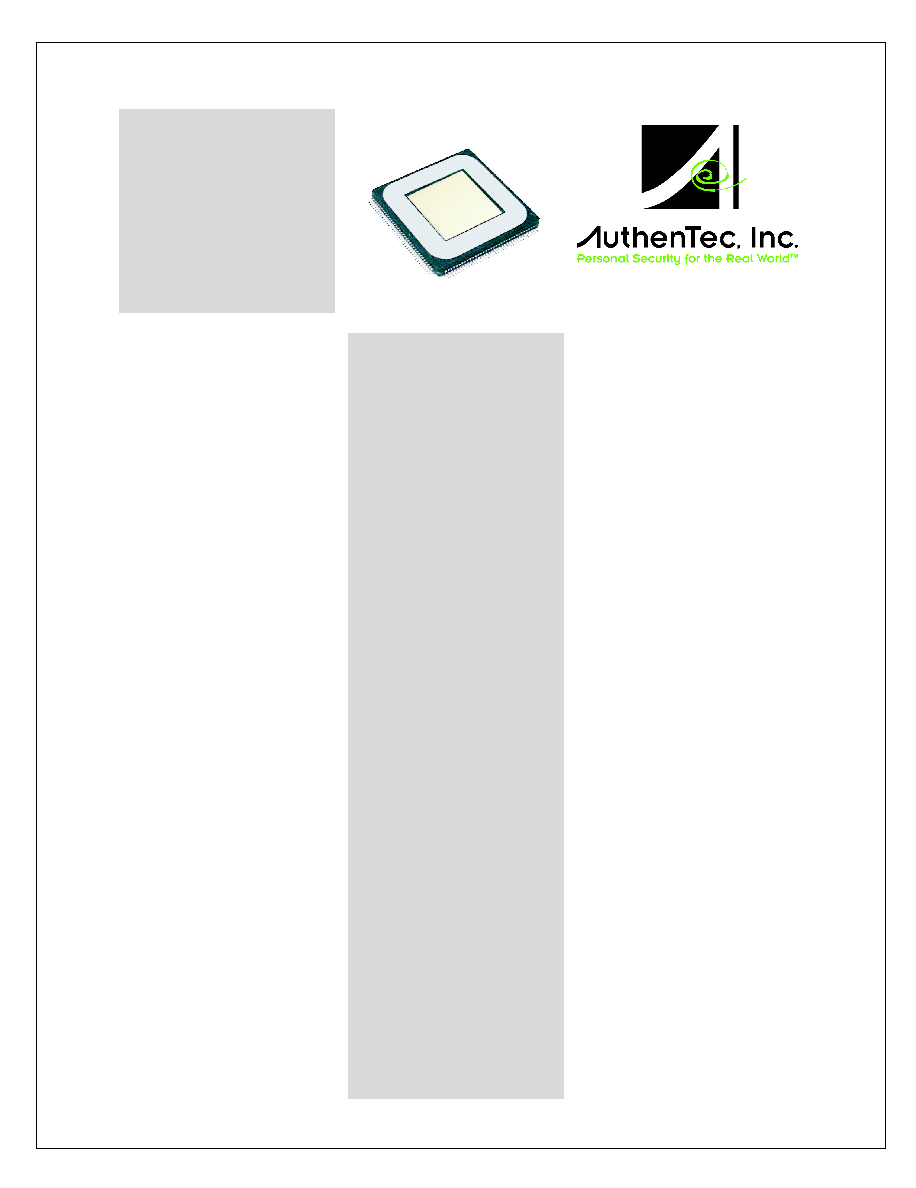 AUTHENTEC AES4000 TRUEPRINT SENSOR DRIVER