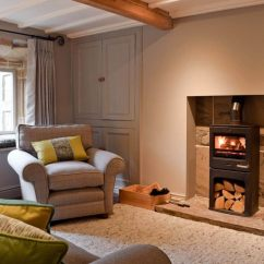 Cosy Living Room With Log Burner Chaise Lounge Furniture Prospect Cottage Ref 23752 In Kettlewell Yorkshire English Wood