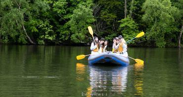 來北海道泛舟正夯 北海道屈斜路湖 遊覧川下り體驗 2小時全程專業嚮導自然環境導覽