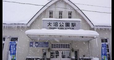 (日本北海道) 大風大雪中的函館大沼國立公園