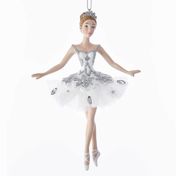 snow queen ballerina ornament