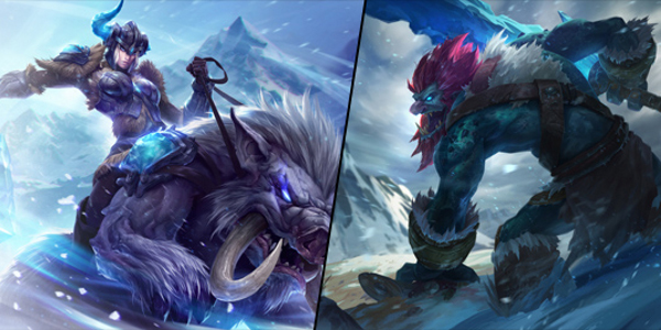 Gear Wallpaper Hd League Of Legends Reworked Trundle And Sejuani Gameplay