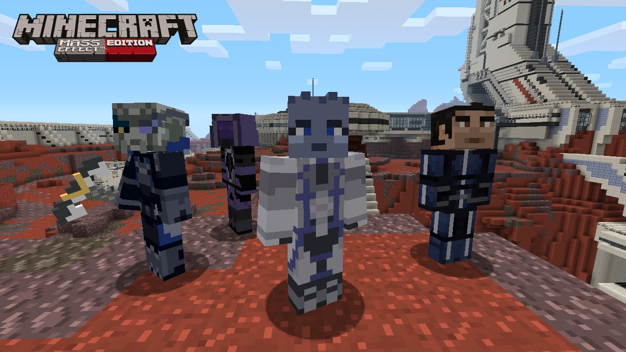 Minecraft Xbox 360 Mass Effect DLC Announced