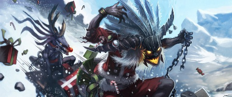 Blizzard Says Happy Holidays With Witch Doctor Grinch
