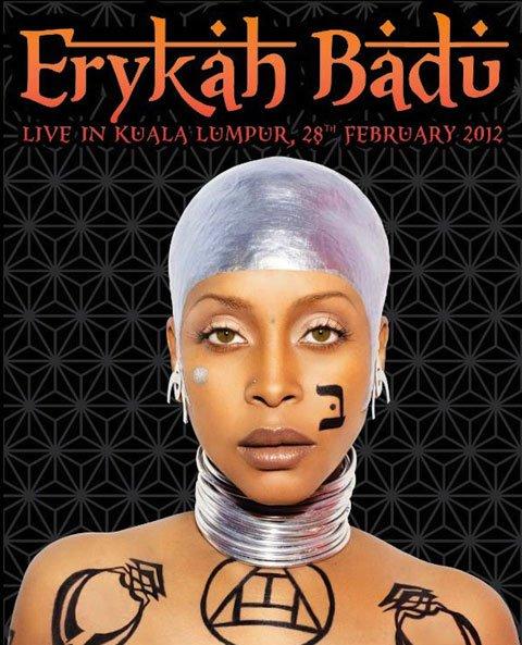 Erica Badu Tattoos : erica, tattoos, Erykah, Badu's, Malaysian, Concert, Canceled, Thanks, Controversial, Tattoo, CINEMABLEND