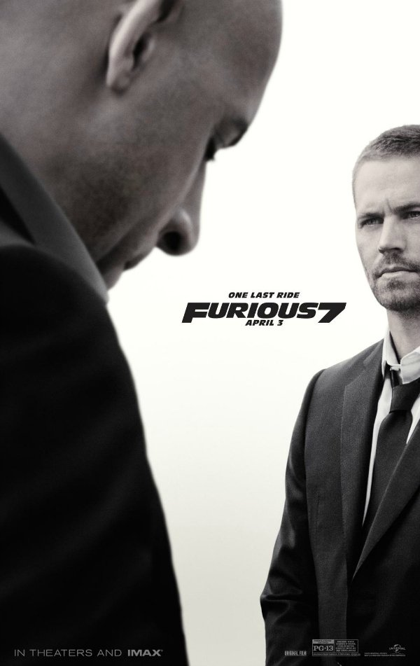 Fast Furious 7 Sub Indo : furious, Furious, Poster, Somber,, Emotional, Perfect, CINEMABLEND