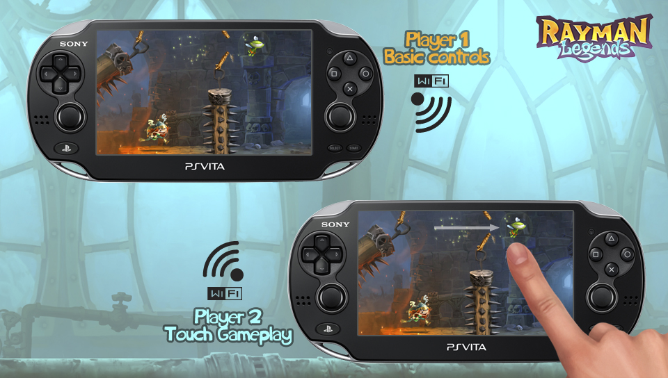 Rayman Legends Is Coming To PS Vita
