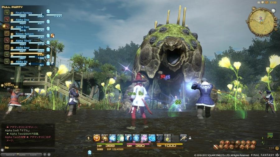 Final Fantasy XIV A Realm Reborn New Gameplay Screenshots