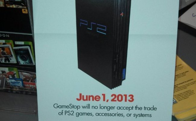 Gamestop Ps2 Trade Ins Will End In June
